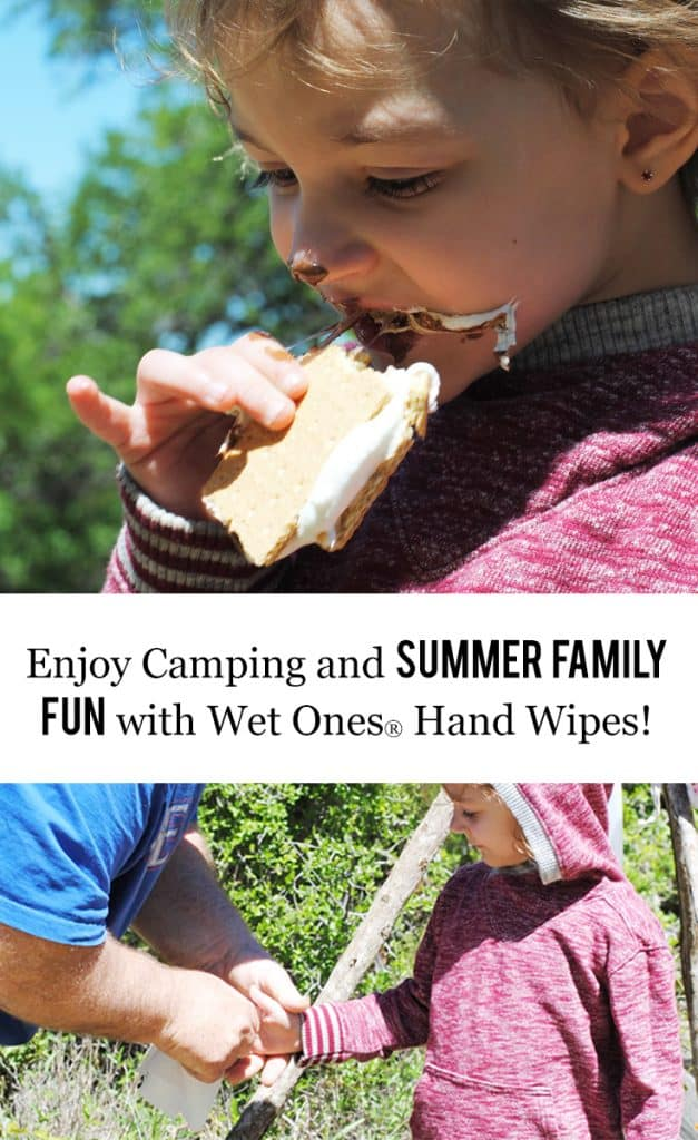 Enjoy Camping and Summer Family Fun with Wet Ones #ad #WetOnesSummerFun #WishIHadaWetOnes