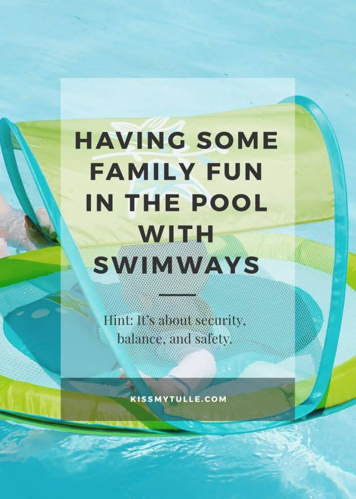 Having Some Family Fun in the Pool with #SwimWays #IC #ad