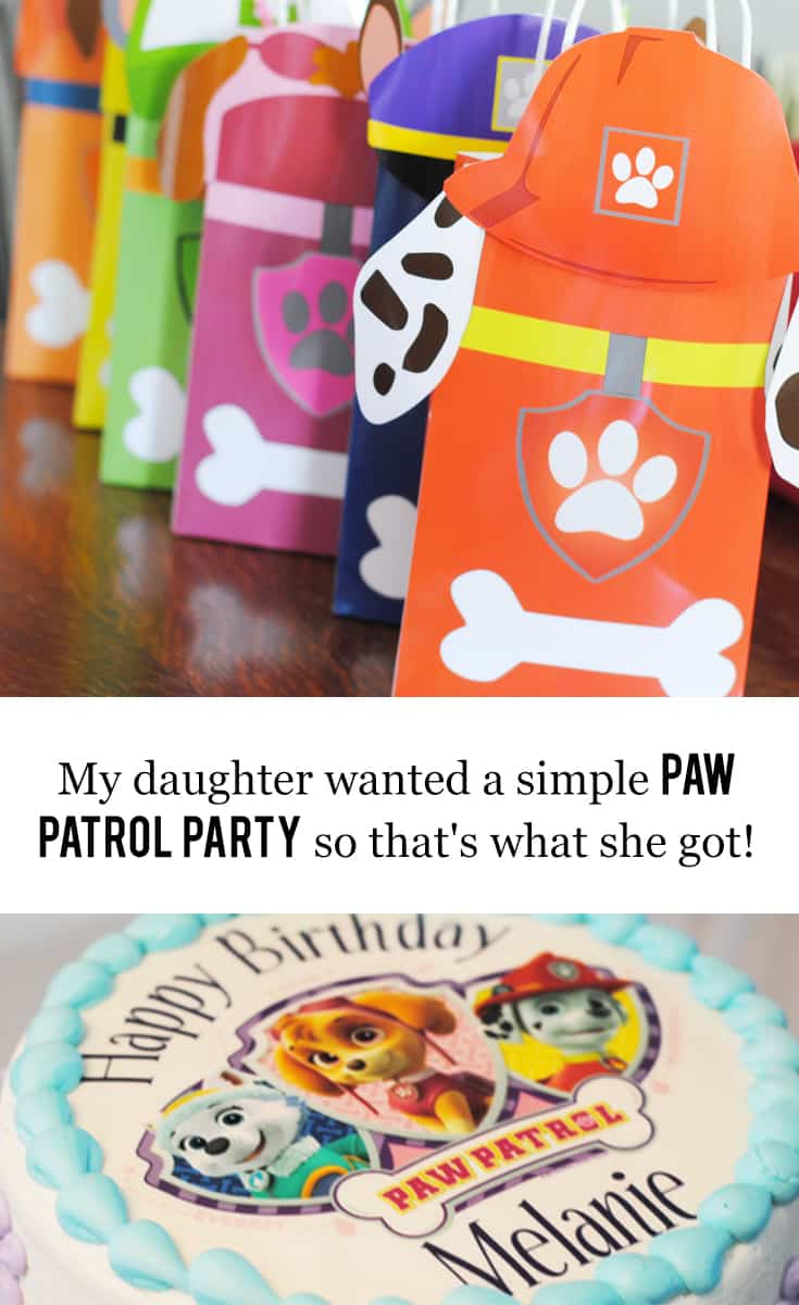 I Give Up on Pinterest! My Daughter Wanted a Simple Paw Patrol Party So That's What She Got + I bought EVERYTHING on Amazon Prime!