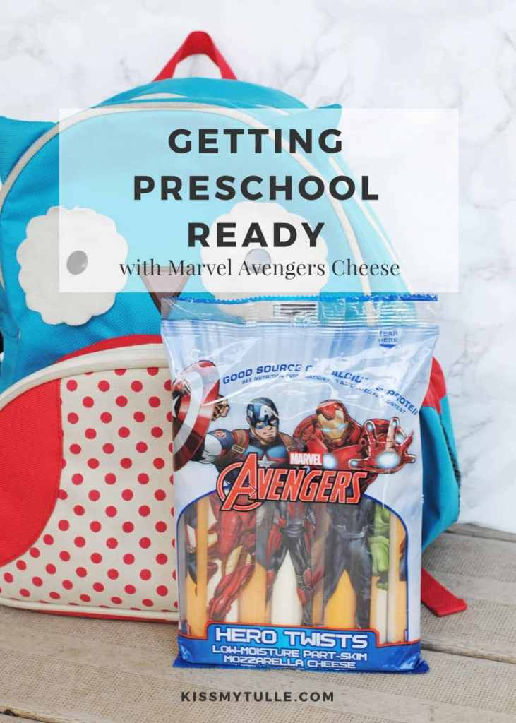 Getting Preschool Ready with Schreiber Marvel Cheese #ad #CheeseAdventures