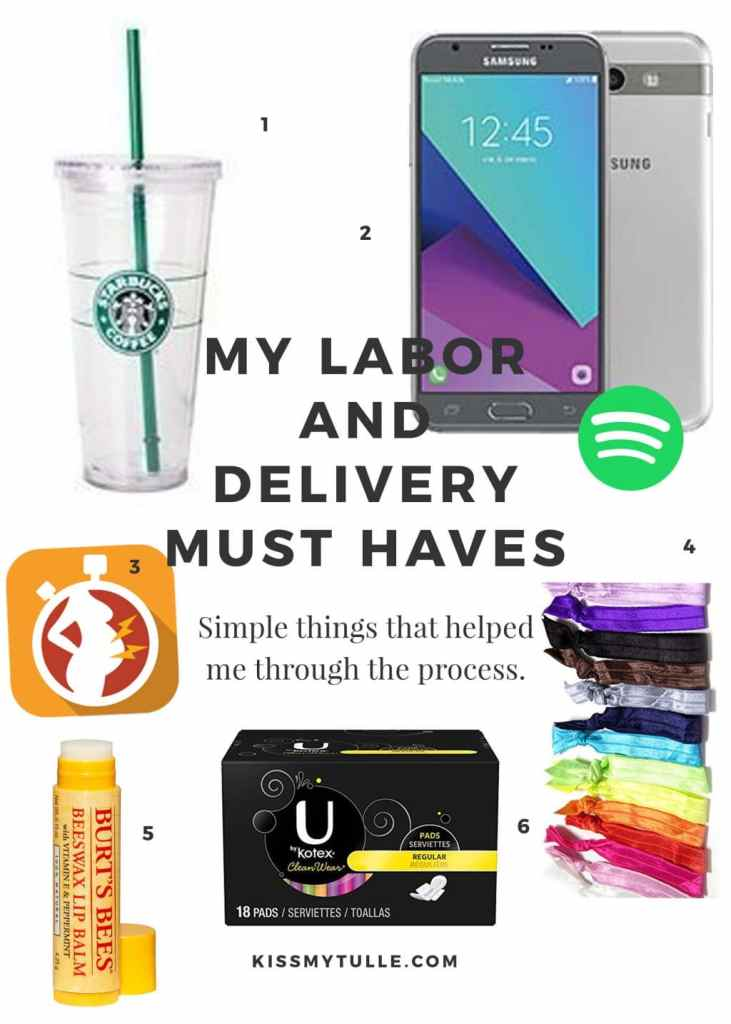 My Labor and Delivery Must Haves #baby #pregnancy #labor #delivery #mom