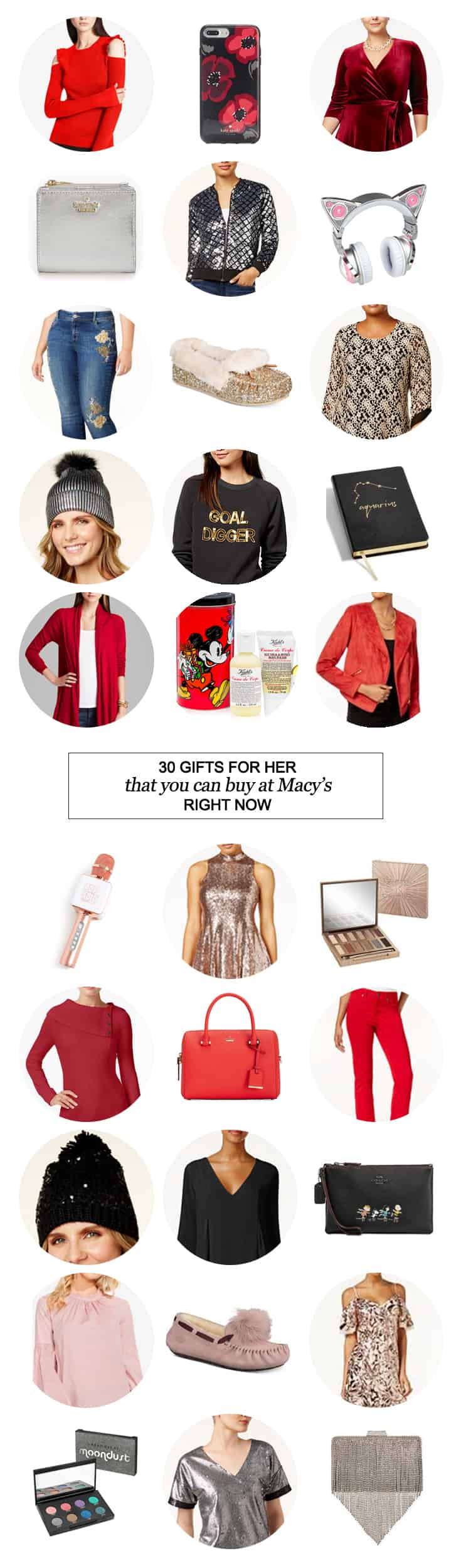 30 Gifts for Her that you can Buy at @Macys Right Now #shopping #holidays #Christmas #women #beauty #fashion #Christmasshopping #teenager