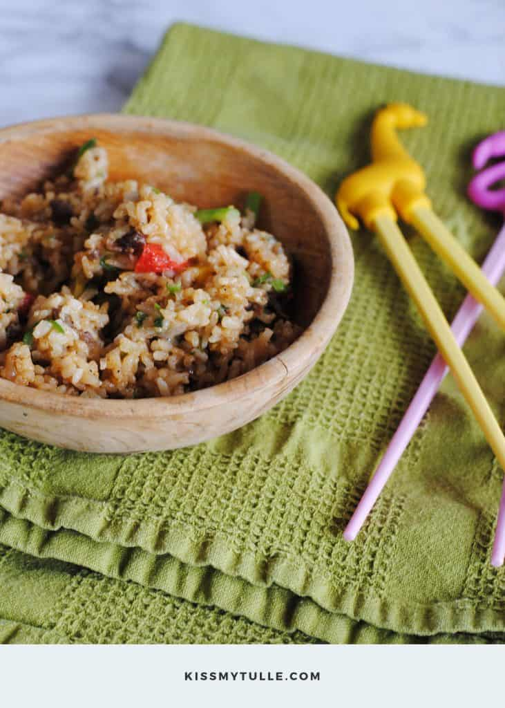 Infusion Cooking at Home the Easy Way #cooking #easymeals #ad #IC #LingLingFriedRice