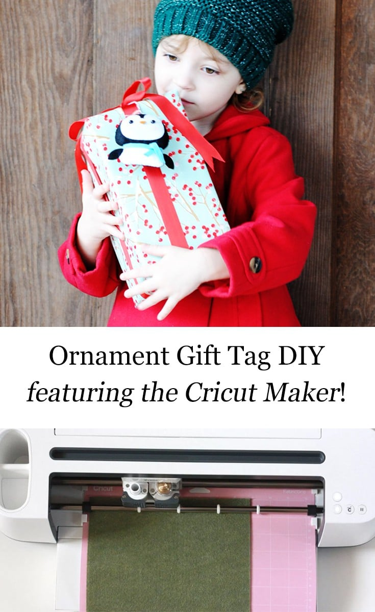 Ornament Gift Tag DIY Featuring The #CricutMaker #AD #CricutMade #CricutHoliday @Cricut #Christmas #gift #holiday #giving