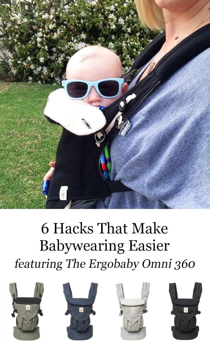 6 Hacks That Make Babywearing Easier