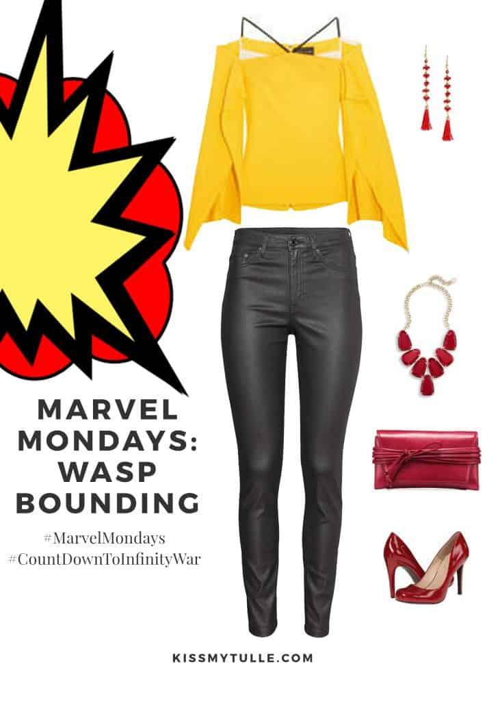 Marvel Mondays: Wasp Bounding #MarvelBounding #MarvelMovies #AntManandWasp #Wasp #CountDownToInfinityWar #MarvelMondays