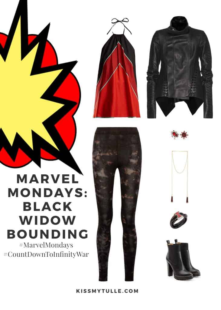 Marvel Mondays: Black Widow Bounding #MarvelBounding #MarvelMovies #Avengers #BlackWidow #CountDownToInfinityWar #MarvelMondays