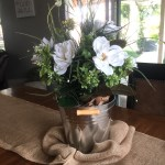 Magnolia Flower Arrangement In A Galvanized Bucket For Less