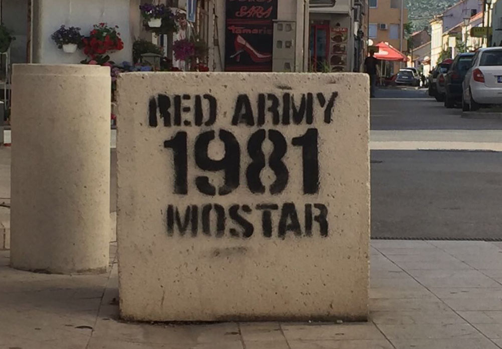 Velez's supporters club Red Army founded in 1981