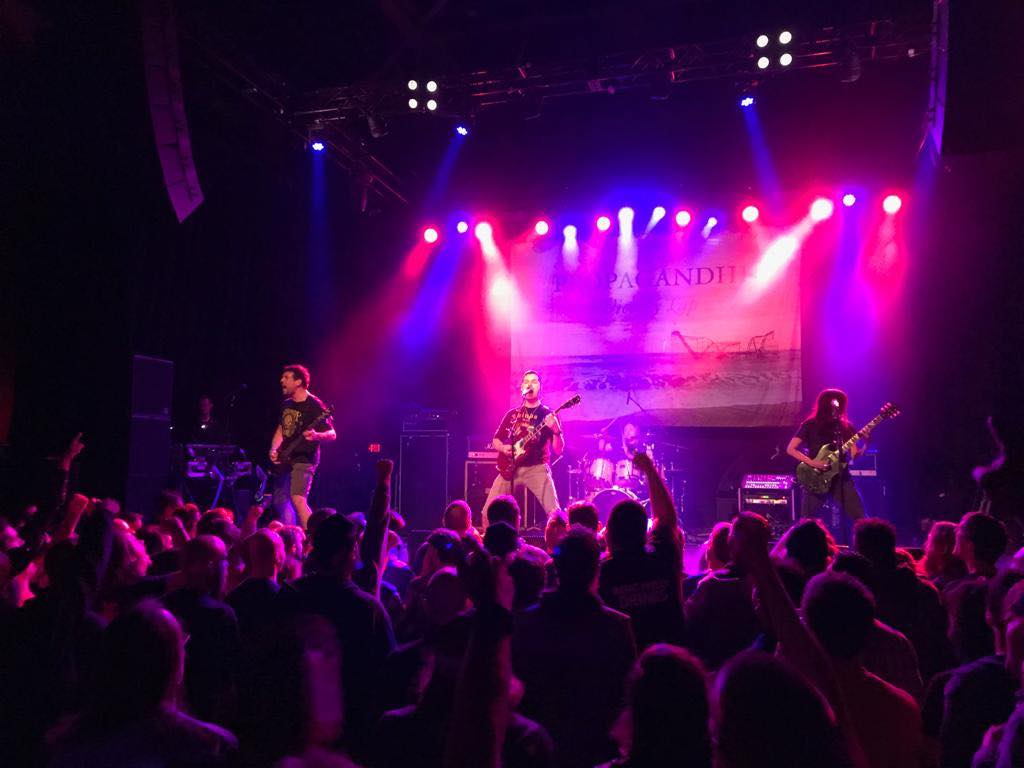 Propagandhi live at Union Transfer in Philadelphia