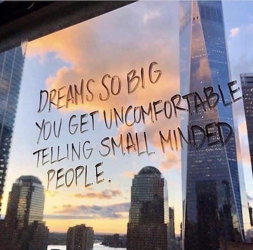 dream so big