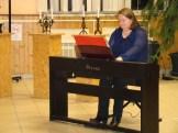 Borbényi Márta tanárnő zongoraelőadása