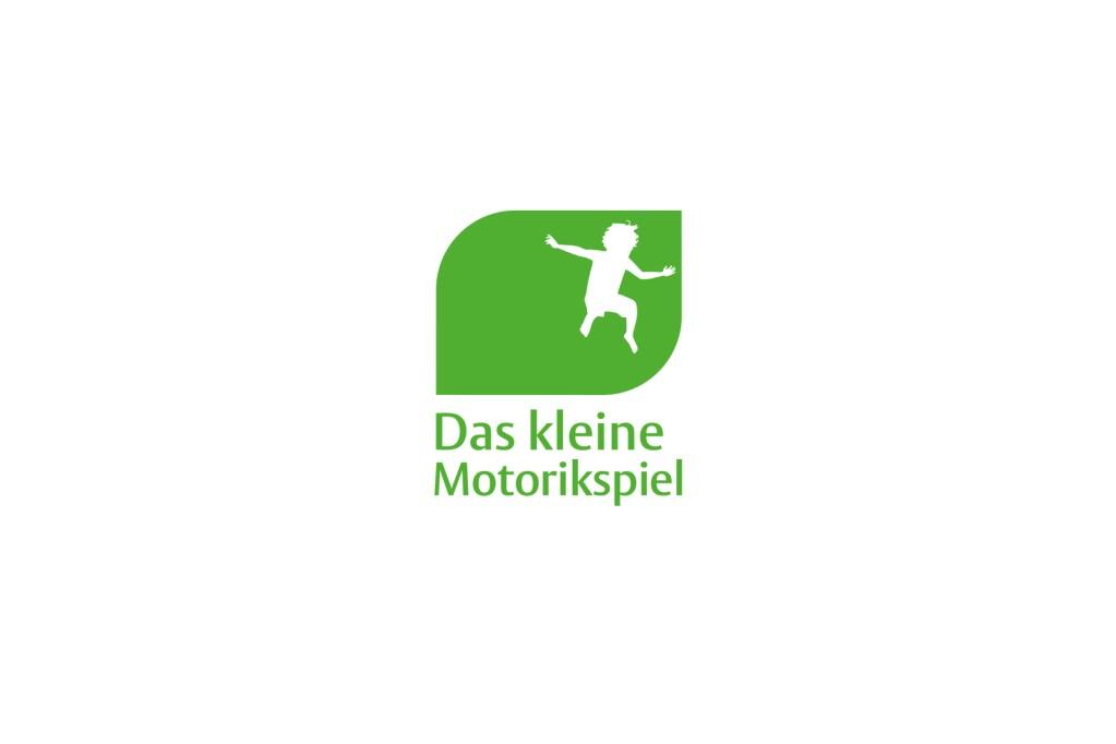 """Beispiel aus der """"Das kleine Förderspiel""""-Reihe - Logo-Gestaltung Motorikspiel"""