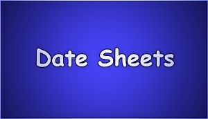BISE Quetta Board Inter Class 11th/12th Date Sheet 2014 Quetta Board HSSC