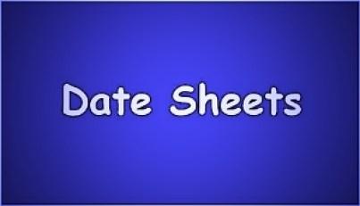 BISE Quetta Board Inter 11th/12th Date Sheet 2021 Quetta Board HSSC