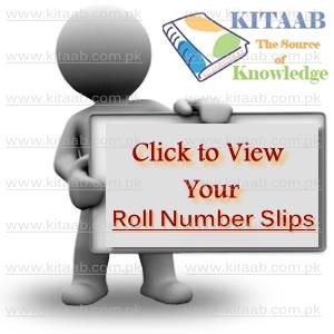 All Punjab Board Inter 11th 12th Class Roll Number Slips 2017 Download FA/FSc Online