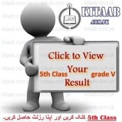 PEC Board 5th Class Result 2014 Punjab Examination Commission Grade 5th pec.edu.pk