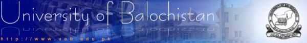 UOB University of Balochistan MA MSc MCOM Part 1 2 Date Sheet 2019
