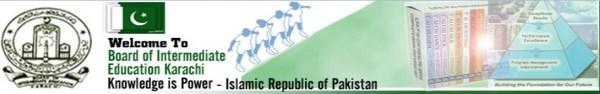 BIEK Karachi Board Date Sheet 2017 Inter Part 1 Part 2 Commerce Private Humanities Regular