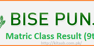 Bise Punjab 9th Class Sample Papers Model Papers Download Online Preview Syllabus Matric Part I Past Papers