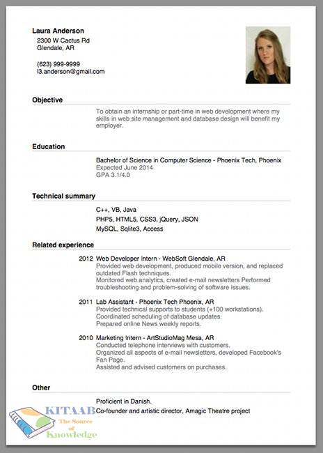 resume making tips template