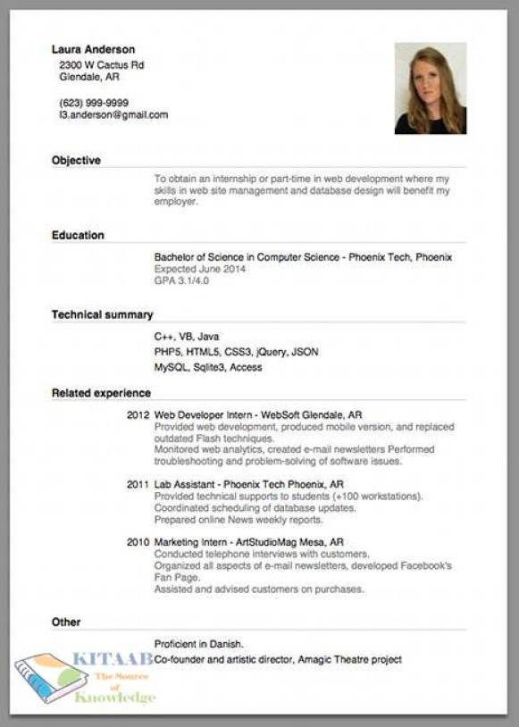 Proper Resume how to type a proper resume How To Type A Proper Resume