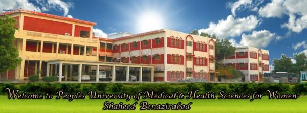 Peoples University of Medical & Health Sciences for Women Shaheed Benazirabad, Nawabshah