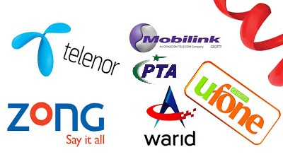 PTA Online Sim Blocking System for Warid, Zong, Mobilink, Telenor, Ufone