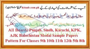 2017 Sample Papers and New Pattern Download of Exams Punjab Board Class 10th