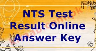NTS LESCO Jobs Test Answer Keys Result 2021 Lahore Electric Supply Company Limited