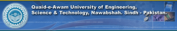 QAU College of Engineering Science and Technology Larkana Admission 2019