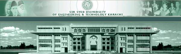 Sir Syed University of Engineering & Technology Admission 2017 Eligibility Criteria Form Download