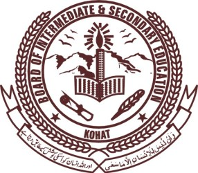 BISE Kohat Board 9th Class Result 2017 Matric Result By Name & by Roll Number