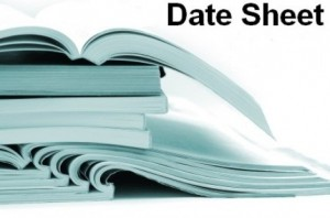 Bise 12th Class Date Sheet 2017 Schedule of Exams Punjab Board Class 12th For All Districts