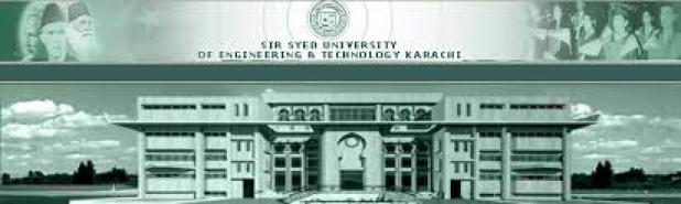 Sir Syed University of Engineering and Technology SSUET Karachi Admission 2017 in Electrical Mechanical Civil BSCS Eligibility Criteria Dates
