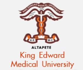 King Edward Medical University Lahore KEMU Admission 2018 Eligibility Criteria Form Download