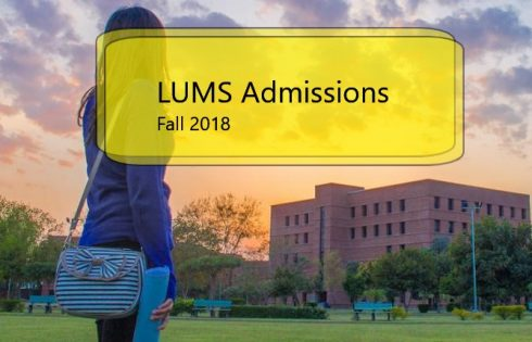 LUMS University Admission 2018 Entry Test Application Form Eligibility and Last Date