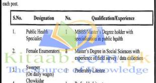 Walk in Interviews Jobs 2021-16 in Punjab Economic Research Institute Application Form Eligibility Criteria
