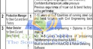 Engineer Required For Redco International Jobs 2021-16 Application Form Eligibility Criteria and Dates