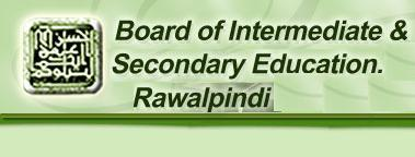 BISE Rawalpindi Board Matric 9th 10th Class Date Sheet 2017 Part 1, 2 BISERWP