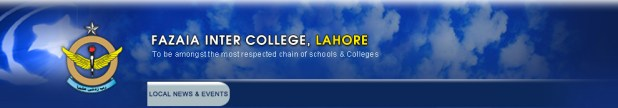 Fazaia Inter College Lahore Admission 2017 Form Download Eligibility Criteria of Courses