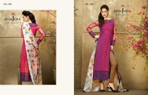 Asim Jofa Pakistani Branded Ladies Designer Suite Kurti Shalwar Kameez New Lawn Expensive Dresses Collection 2016