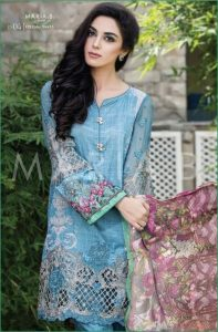 Ladies Designer Maria.B Suite Kameez Kurti Shalwar Lawn Fashionable Dresses Collection 2016