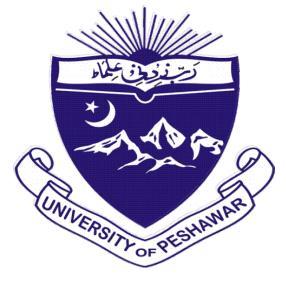 Peshawar University UOP Admission 2019 For MA MSc Online Registration Procedure