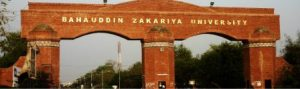 Bahauddin Zakariya University BZU Admission 2017 For BA BSc Online Registration Procedure Dates and Schedule