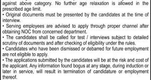 Water and Power Development Authority WAPDA Jobs 2021 Last Date Eligibility Criteria
