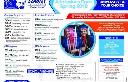 Shaheed Zulfiqar Ali Bhutto Medical University Admission 2019 Entry Written Test Dates and Result