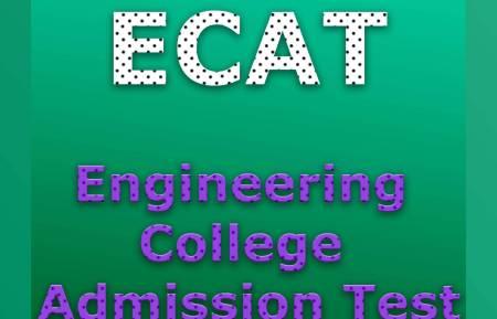 ECAT Test 2020 Answer Key Result Online Admission Entrance Test