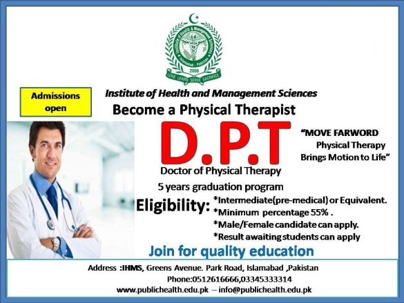 Career and Scope After DPT in Pakistan