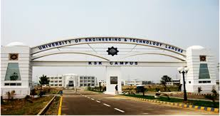 University Engineering And Technology UET Lahore Admission 2020 Funded Research Program